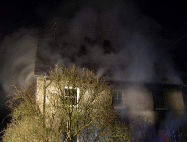 Wohnhausbrand Ruppertshofen